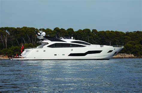 yacht spot sunseeker 101 sport yacht tranquil modern and expertly