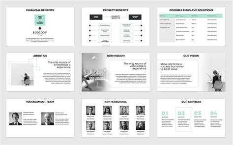 business proposal presentation business proposal powerpoint template