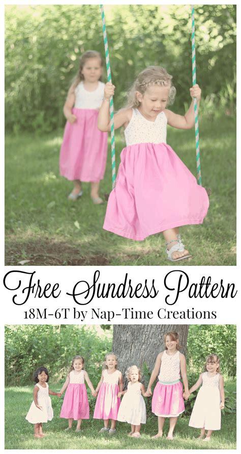 dress pattern nap cousin dresses free sundress pattern nap time creations