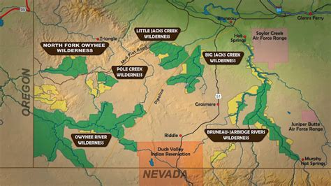 owyhee canyonlands map the owyhee tough trip through paradise
