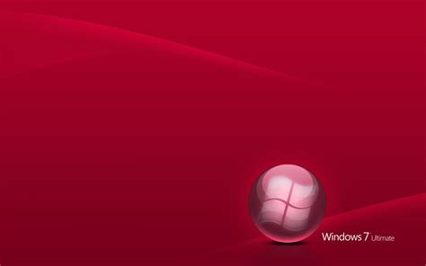 wallpaper windows red wallpapers windows 7 red wallpapers