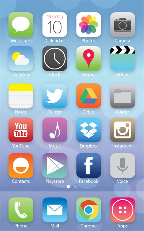 iphone 5s apk image gallery ios icon pack