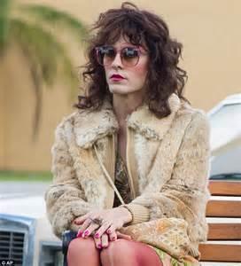 transgendered men living as women jared leto models in flaunt photoshoot as he looks forward