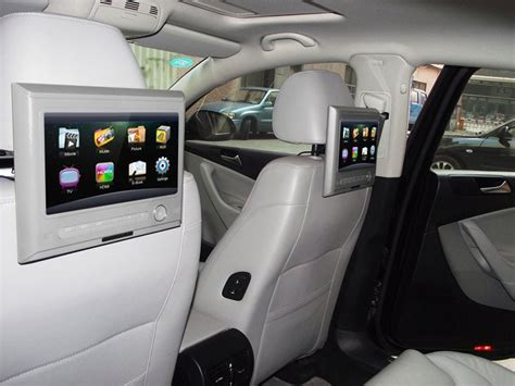 Tv 5 6 Inch Headrest Tv Mobil car tv mpeg4 picture more detailed picture about touch screen headrest car tv set monitor