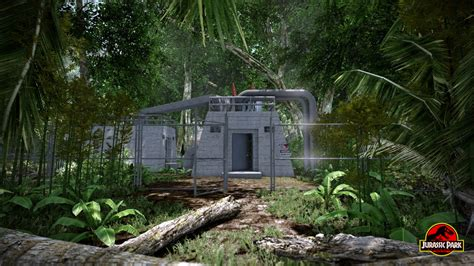 Maintenance Shed by Maintenance Shed Update Image Jurassic Park Aftermath