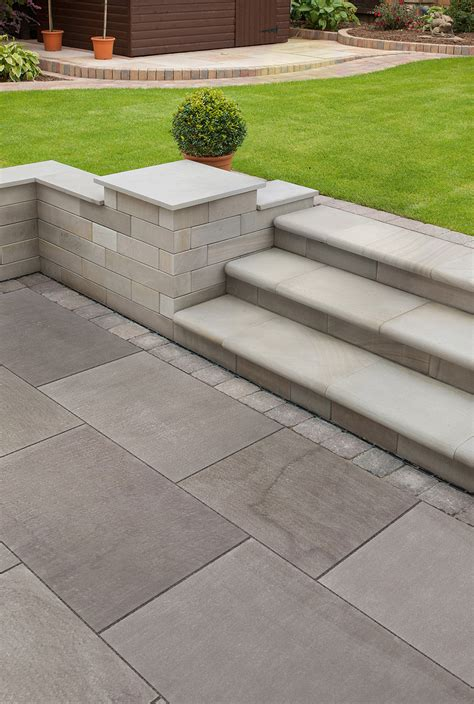 Fairstone Flamed Narias Garden Paving Marshalls.co.uk