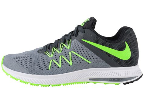 Nike Zoom Winflo 4 nike zoom winflo 3 cool grey anthracite black electric green zappos free shipping both ways