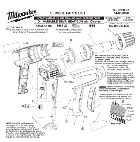 milwaukee magnetic drill parts wiring diagrams wiring