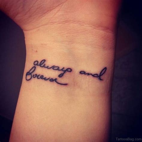 in handwriting for a tattoo 62 lovable wording tattoos for wrist