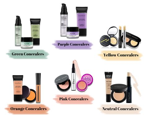 color concealer makeup color wheel concealer mugeek vidalondon