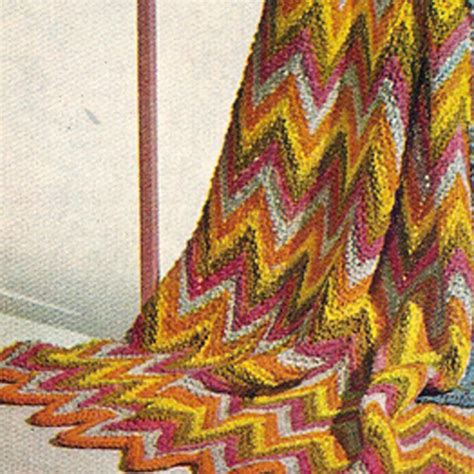 free knitted ripple afghan pattern knitted ripple afghan pdf pattern