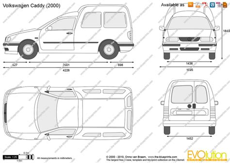 volkswagen drawing the blueprints com vector drawing volkswagen caddy