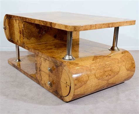 1930 s olivewood deco coffee table at 1stdibs