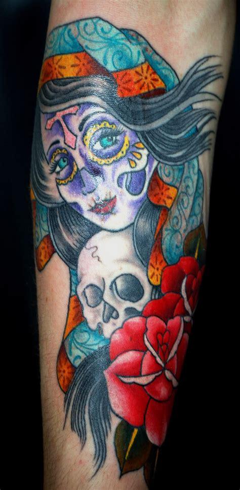 Dia De Los Muertos Tattoos Pictures Dia De Los Muertos Tattoos Pictures
