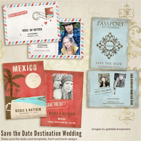 save the date passport template pin by emily herman on wedding invites and save the