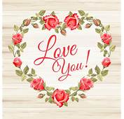 Rose Frame With Wedding Cards Vector 02  Card