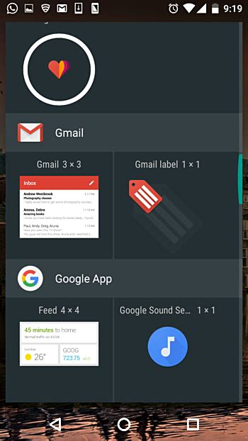 gmail widgets for android how to quickly access your gmail inbox from your android phone s home screen