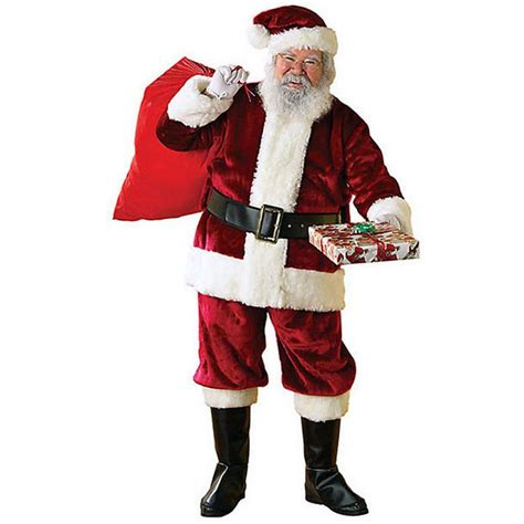 rubie s costumes extra large crimson regency santa suit