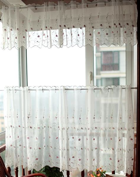 coffee curtain small kitchen curtain shade in