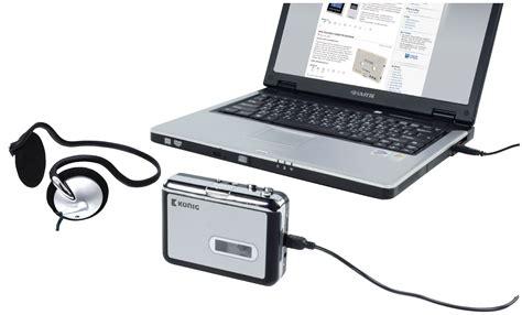 convertitore cassette in mp3 hav ca10 k 246 nig portable usb cassette mp3 converter