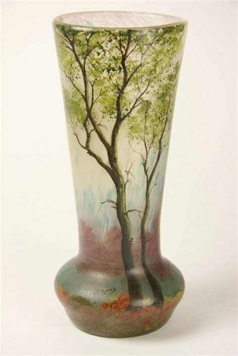 Glass Vases Melbourne by A Legras Glass Vase Circa 1900 Decorative Arts