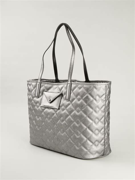 Marc Large Quilted Tote by Lyst Marc By Marc Metropolitote Quilted