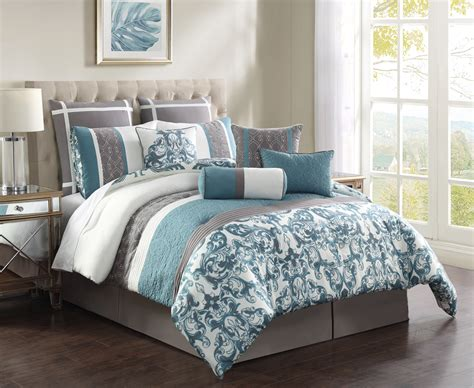 gray queen comforter sets 28 best aqua comforter sets 8pc taupe aqua beige