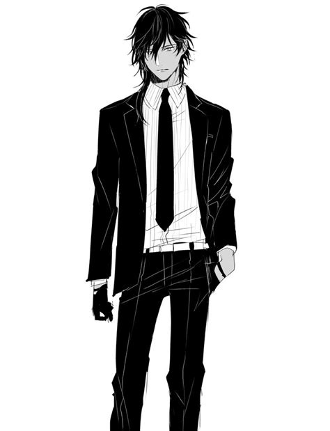 anime cool boy with tuxedo 1000 ideas about cool anime guys on anime