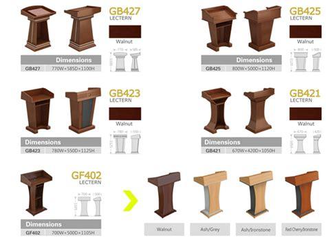 multifunction wood speaker stand podium rostrum sit