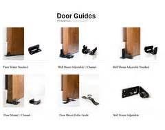 Barn Door Guides With The Barn Doors Is There A Track On The Bottom