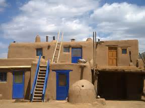 Pueblo Adobe Homes the adobe architecture unique to new mexico s pueblo de taos