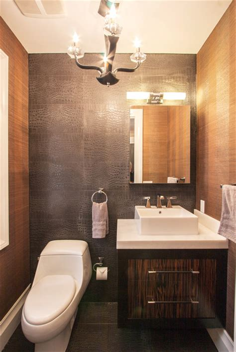 ct residence modern powder room new york by susan brooklyn home contemporary powder room new york by