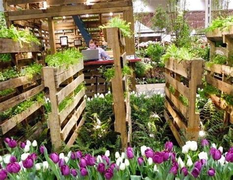 Garden Ideas With Wood Wow I Want To Make Diy Recycled Pallet Vertical Garden For My Wall Pallets Designs