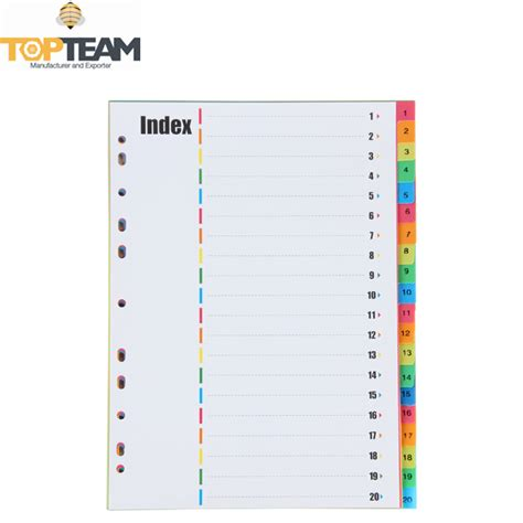 template layout data in a file named index html free sle various color a4 format file index card pp