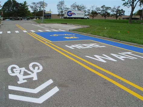 New Um Flint Course Looks by Um Flint Debuts Bicycle Road Skills Course