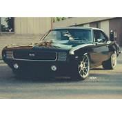 1969 Chevrolet Camaro SS Gets ADV1 Wheels  Autoevolution