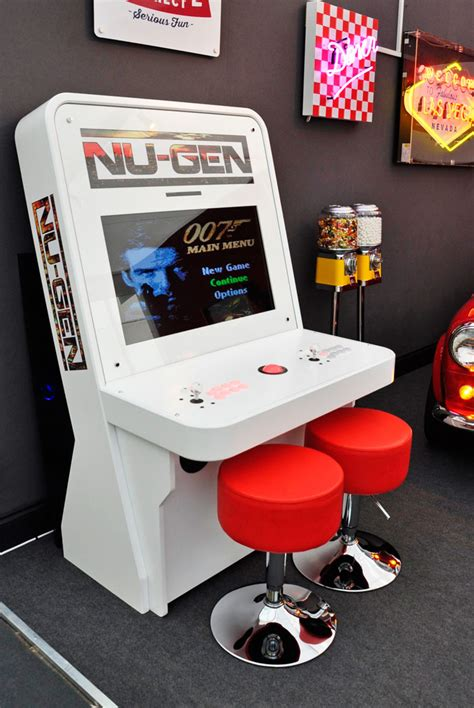 nu elite arcade machine home leisure direct