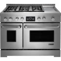 Jenn airpro style 174 gas range with griddle and multimode 174 convection