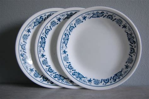 corningware pattern history corelle by corning old town blue pattern dinner plate