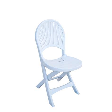Merveilleux Chaises De Jardin Blanches Plastique #1: CHP010-chaise-pliable-jardin-plastique-bravo-blanc-zoom.png