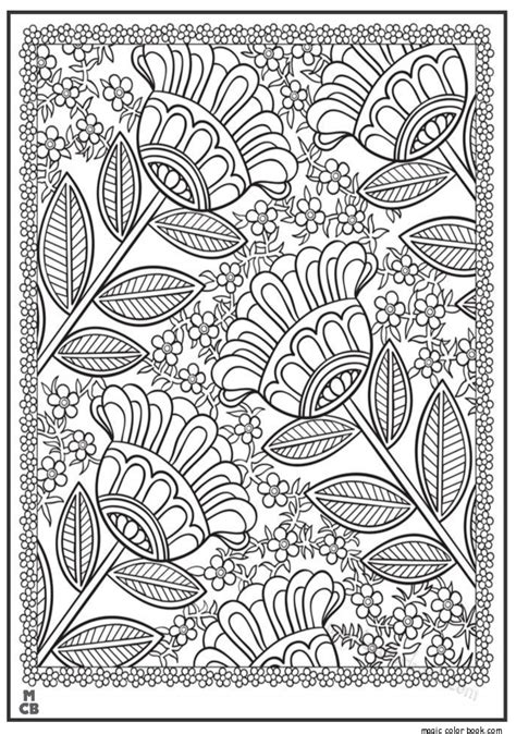 pattern coloring book books fox adults patterns coloring pages