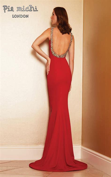 Dress Michi pia michi dresses womens low back evening dress