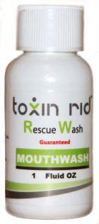Fast Marijuana Detox Kit Near Me by Toxin Rid Mouthwash
