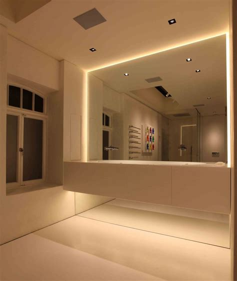 bathroom strip light bathroom lighting a collection of ideas to try about