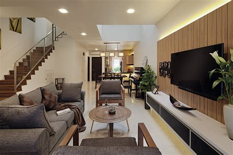 rich woody elements newly built terrace house weikencom lookboxliving