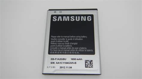 Battery Samsung Galaxy Ori 99 100 original s2 battery eb f1a2gbu 1650mah for samsung