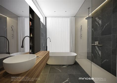 designed bathrooms minosa modern bathroom design to share