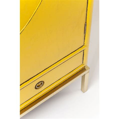 Disk Cabinet by Cabinet Disk Yellow Kare Design