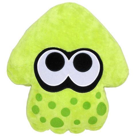 Lime Green Bedroom Splatoon Inkling Squid Cushion Green Nintendo Official