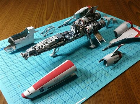 How To Decorate A Craftsman Home by Awesome Paper Star Wars Robots And Spaceship Models